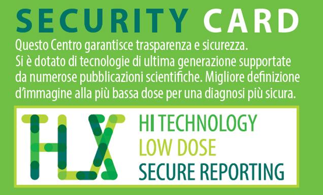 Richiedi presso questi centri la Security Card